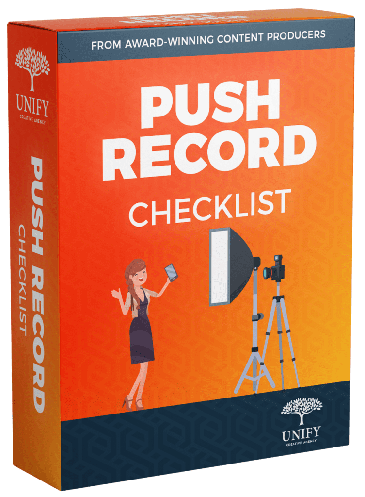 Push Record Checklist Box